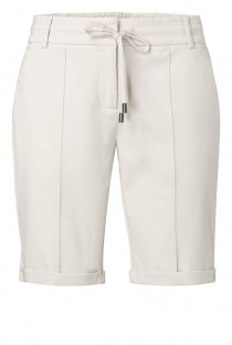 Jersey long tailored shorts